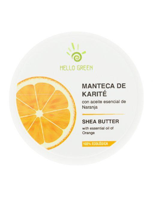 Manteca de karité con aceite esencial de naranja