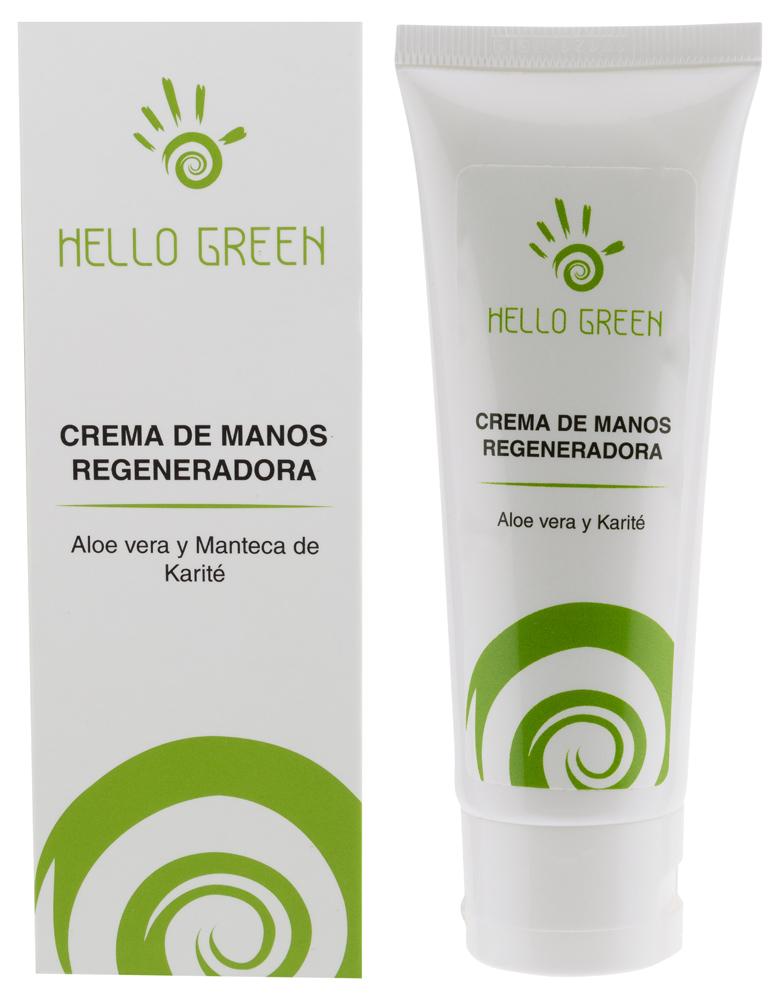 Crema de manos de Aloe vera y Karité